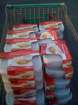 Pile of tupperware